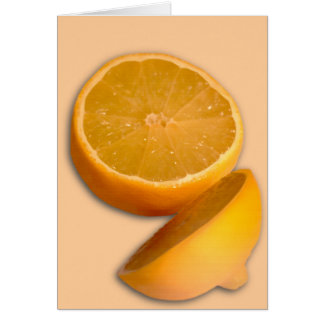 Cartão Corte o limão