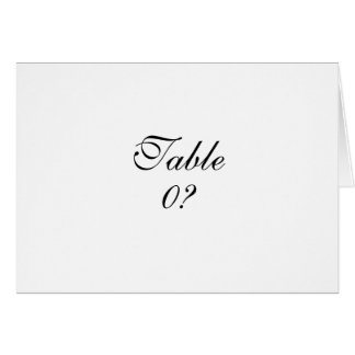 Cartão COSTUME da colocação do convidado do casamento do