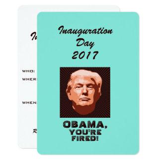 Cartão Costume da inauguração 2017 do trunfo