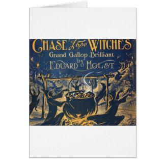 Cartão coven das bruxas