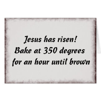 Cartão Coza-me um Jesus