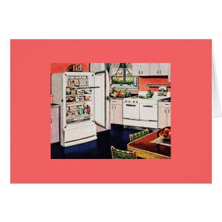 Cartão Cozinha retro