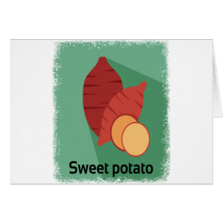 Cartão Cozinhe um dia da batata doce - dia da apreciação