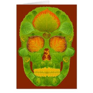 Cartão Crânio 10 da folha de Aspen