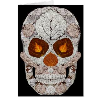 Cartão Crânio 11 da folha de Aspen