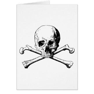 Cartão Crânio dos Crossbones