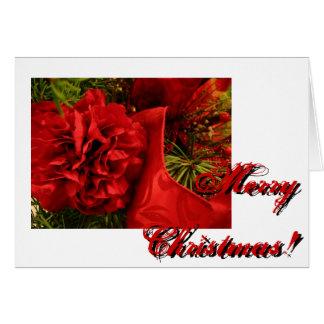Cartão Cravos do Natal
