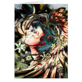 Cartão Crepúsculo do close up de Gabriel