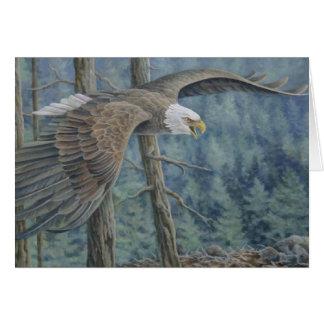 Cartão crescente de Eagle