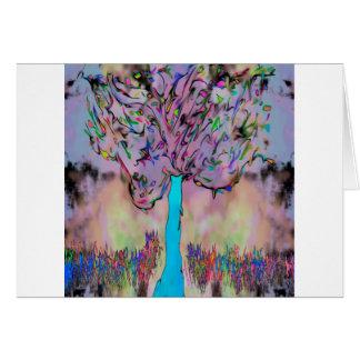 Cartão crescimento selvagem