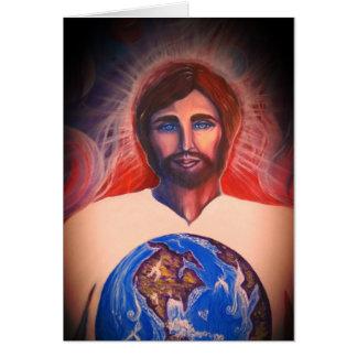 Cartão Criador, juiz, salvador do mundo