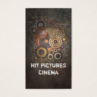 Cartão criativo do vertical do negócio das