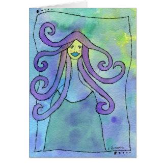 Cartão Criatura divina