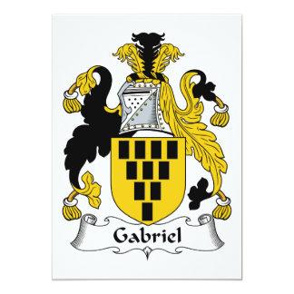 Cartão Crista da família de Gabriel