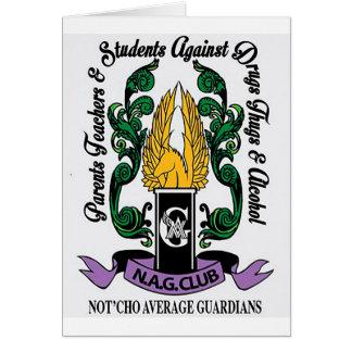 Cartão Crista média dos guardiães de Not'Cho