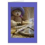 Cartão cristão PBR do feliz aniversario