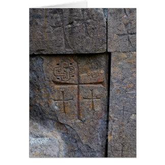 Cartão Cristãos antigos