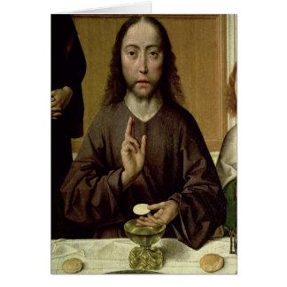 Cartão Cristo que abençoa 2