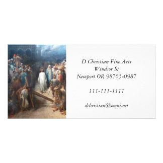 Cartão Cristo que deixa Praetorium