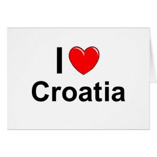 Cartão Croatia