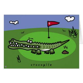 Cartão crocopile
