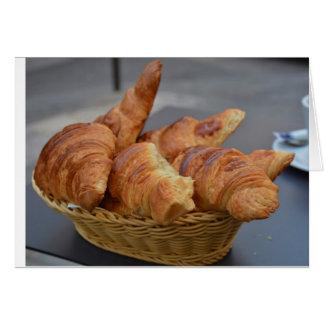 Cartão Croissants!