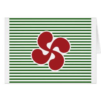Cartão Cruz Basca Marinheira