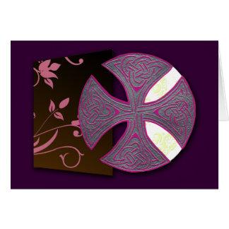 Cartão Cruz celta (livro de Durrow)