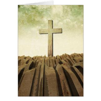 Cartão Cruz cristã