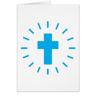 Cartão Cruz do Jesus Cristo