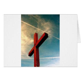 Cartão Cruz eterno