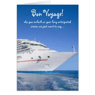 Cartão Cruzeiro do bon voyage