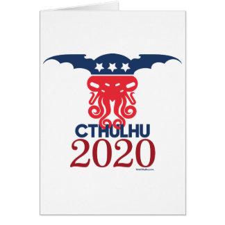 Cartão Cthulhu para o presidente 2020