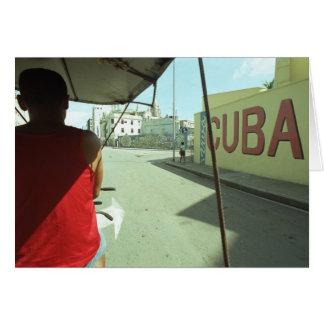 Cartão Cuba