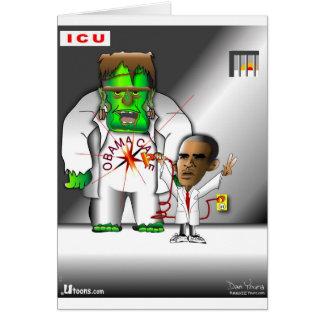 Cartão Cuidado de Obama em ICU
