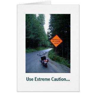 Cartão Cuidado extremo,