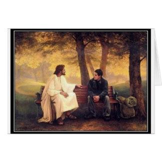 Cartão Cuidados de Jesus para mim