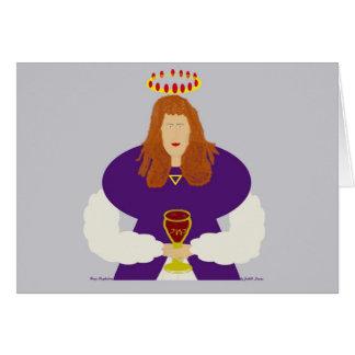 Cartão Cumprimento da Maria Madalena