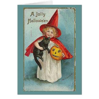 Cartão Cumprimento de Samhain