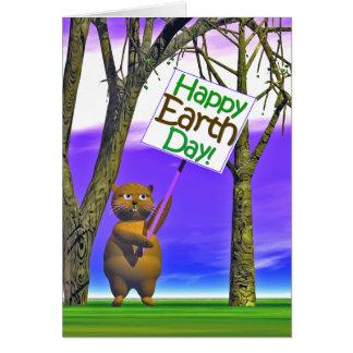 Cartão Cumprimento do Dia da Terra