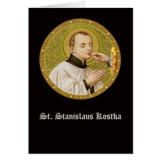 Cartão Cumprimento do St. Stanislaus (SNV 25) (RndImage)