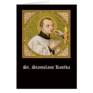 Cartão Cumprimento do St. Stanislaus (SNV 25) (SquImage)
