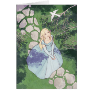 Cartão Cumprimento Elvish
