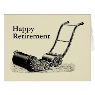 Cartão Cumprimento grande da aposentadoria feliz do