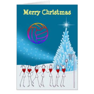 Cartão Cumprimento temático do Natal da bola dos