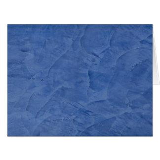 Cartão Cumprimento vazio grande do emplastro azul