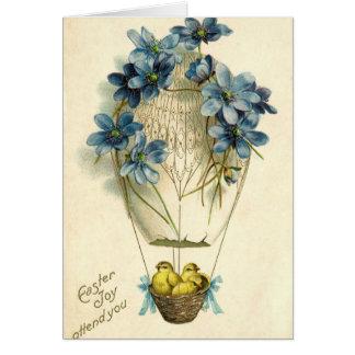 Cartão Cumprimentos antigos velhos do desejo do felz