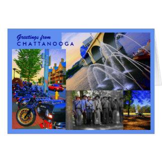 Cartão Cumprimentos de Chattanooga