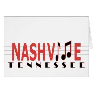 Cartão Cumprimentos de Nashville