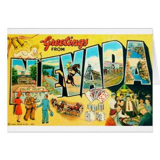 Cartão Cumprimentos de Nevada